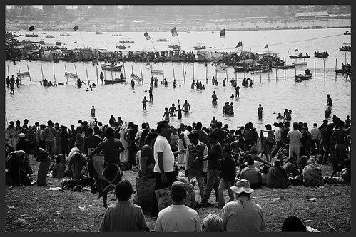 Picture Post Card From Allahabad - MahaKumbh by firoze shakir photographerno1