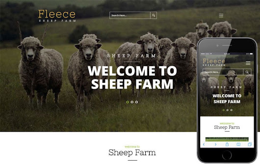Fleece a Agricultural Flat Bootstrap Responsive Web Template