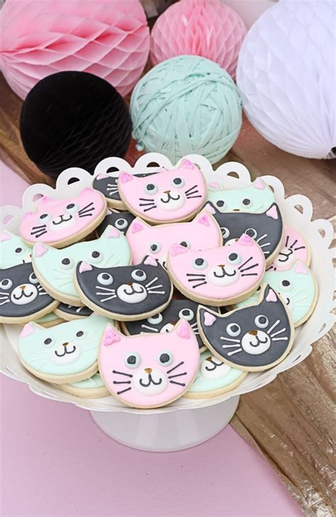 30 Cute Cat Birthday Party Ideas   Pretty My Party