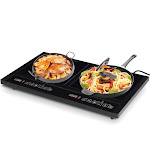 Electric Dual Induction Cooker Cooktop | Costway