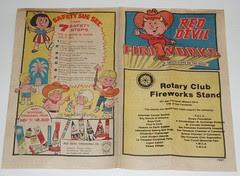 1983 Red Devil Fireworks brochure