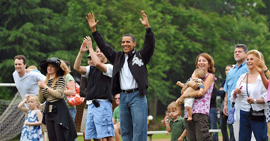 Obama and His Dad Jeans Through the Years