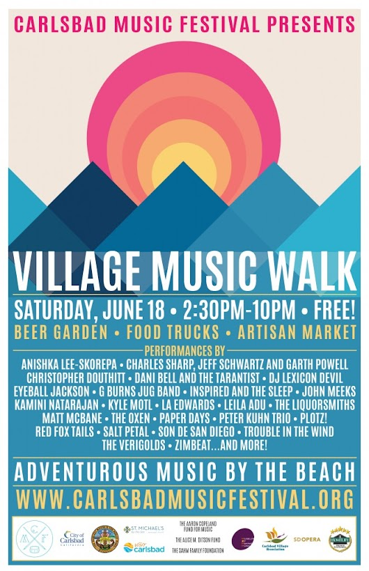 The Carlsbad Village Music Walk Will Rock Your Saturday | Encinitas Realtor