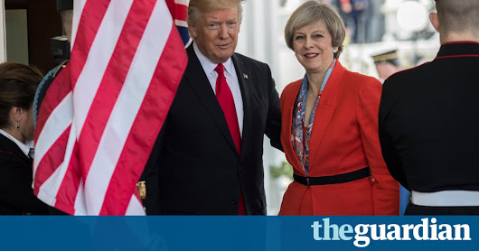 Donald Trump '100% behind Nato', says Theresa May at joint White House press conference – Politics live | Politics | The Guardian