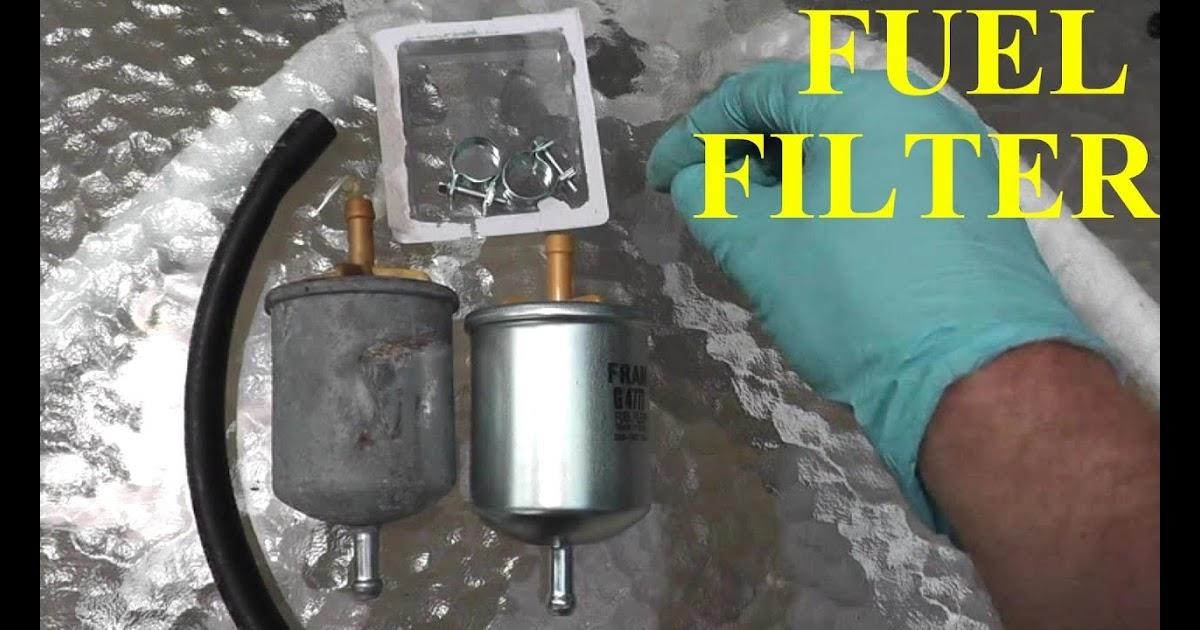 Fuel Filter 2010 Maxima