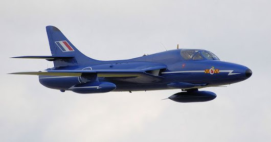 "Hawker Hunter ""Blue Diamond"" 