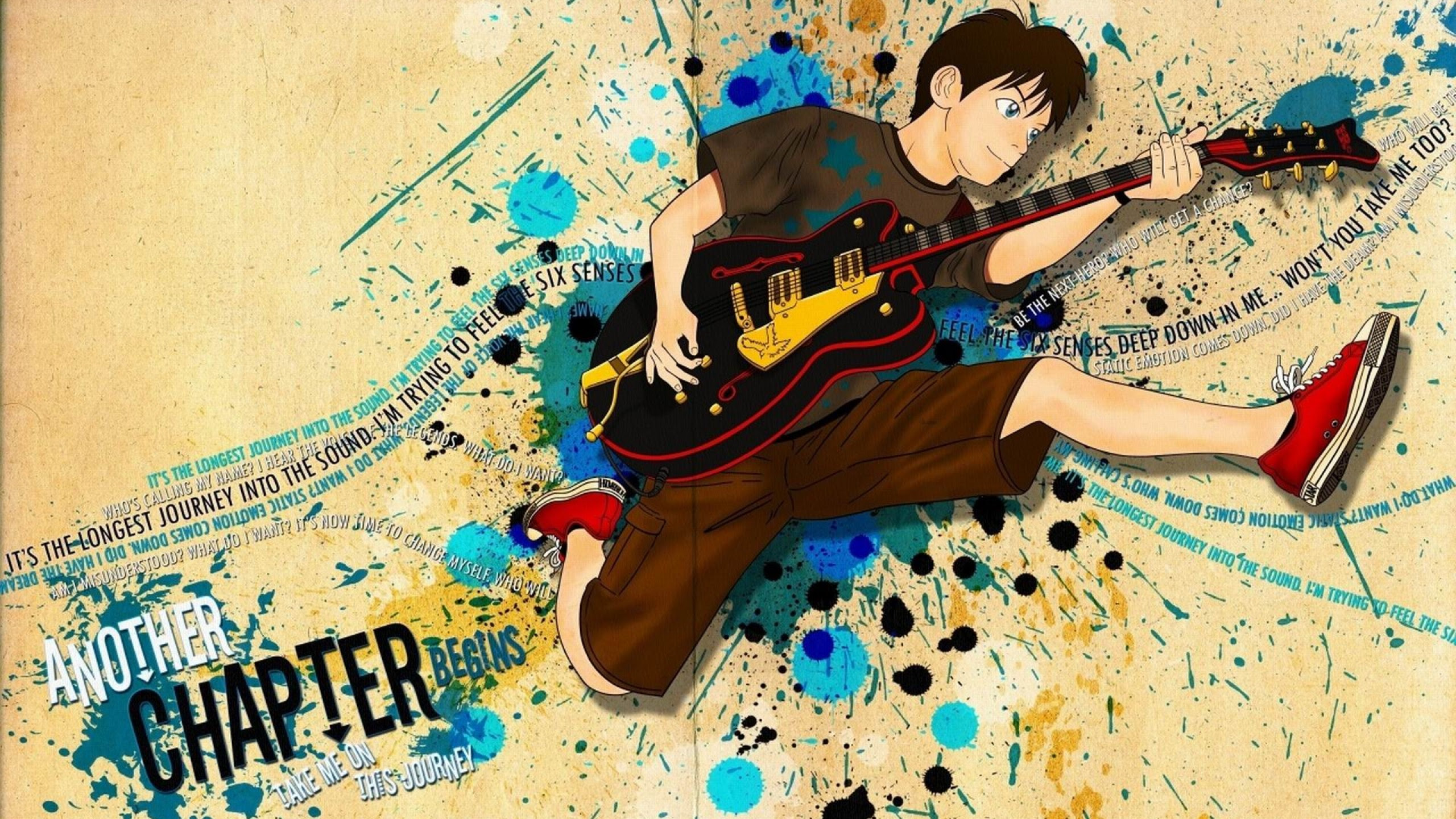Download Boy With Guitar HD Wallpaper Gallery