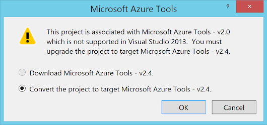 Migrando el tres en raya: Azure SDK 2.4, SignalR 2.1.1, Windows 8.1