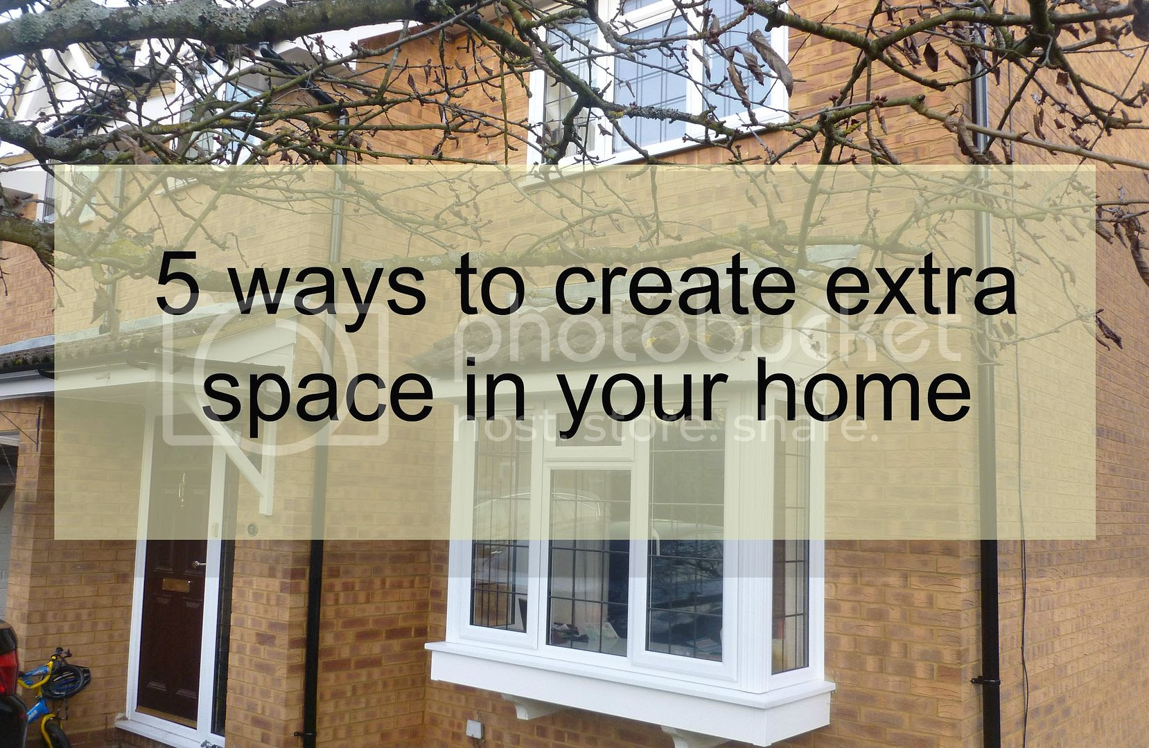 ways to create extra space in your home