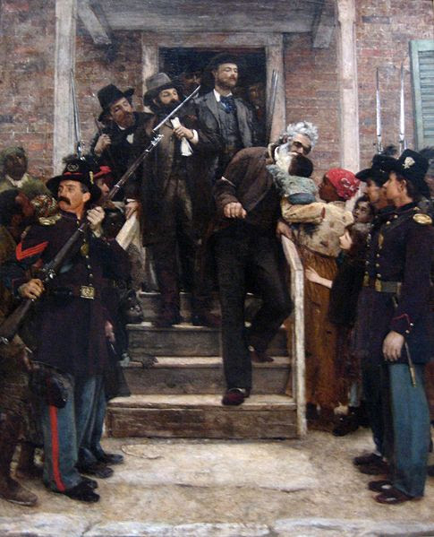 File:'The Last Moments of John Brown', oil on canvas painting by Thomas Hovenden.jpg