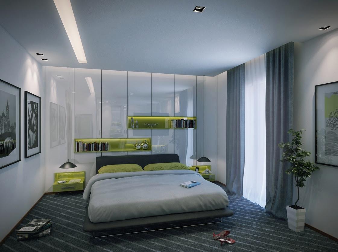 Home Architec Ideas Bedroom Modern Apartment Interior Design