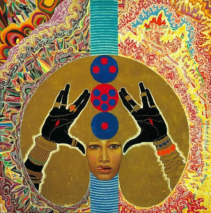 Blessing - Mati Klarwein - 1965