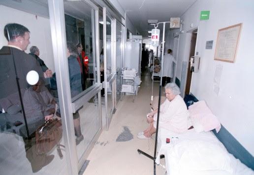 Πάτρα: ''Σε λίγο θα βάλουμε τους ασθενείς στην ταράτσα''!