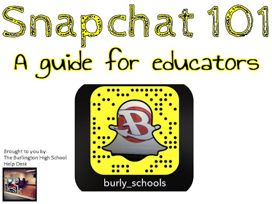 Snapchat 101: A Guide For Educators