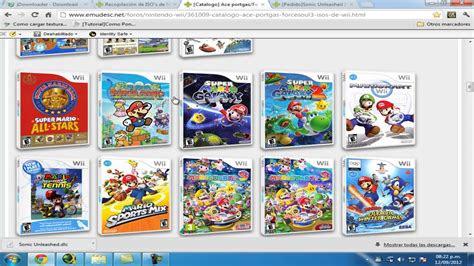 descargar juegos de nintendo wii  jdownloader youtube