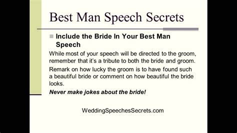 How To Write Your Funny Best Man Speech   6 Secrets For