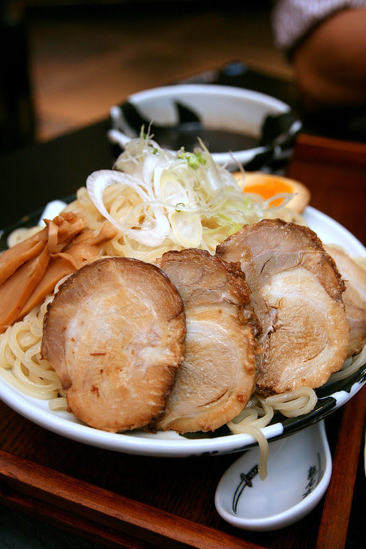 Triple portion Tsukemen