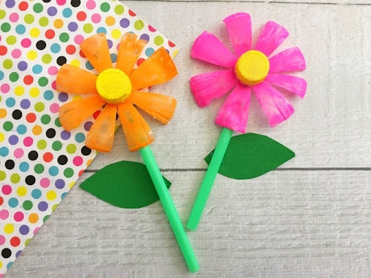 Plastic Bottle Flowers (Upcycle Project) Simplistically Living