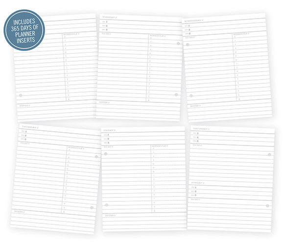 Simple Stories SNAP Life Documented Daily Planner 6 x 8 Journal ...