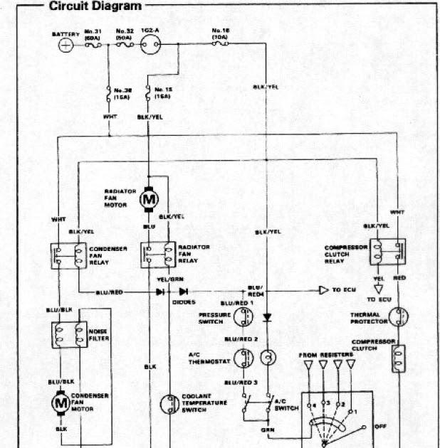 2001 Honda Civic Ac Wiring Diagram