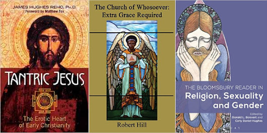 "New in Feb: LGBTQ Christian books ""Tantric Jesus,"" ""Bloomsbury Reader,"""