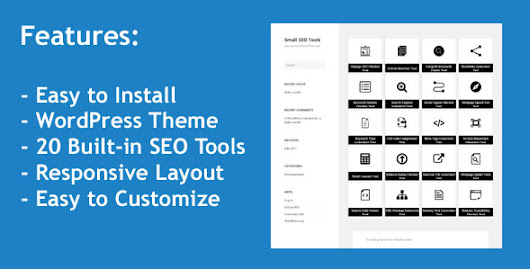Download Small SEO Tools - WordPress Theme with 20 built-in SEO Tools nulled | OXO-NULLED