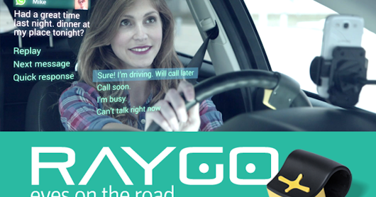 CLICK HERE to support RayGo - Drive & use apps without looking at phone