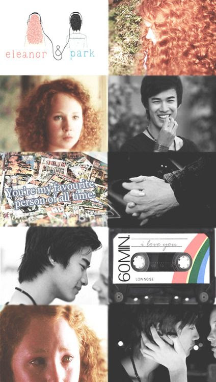 Beautiful fan art inspired by the beautiful book, Eleanor and Park, by Rainbow Rowell.