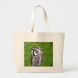 Gorgeous Little Owl Jumbo Tote Bag