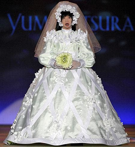 Top 10 ugliest wedding dresses you will ever see  a