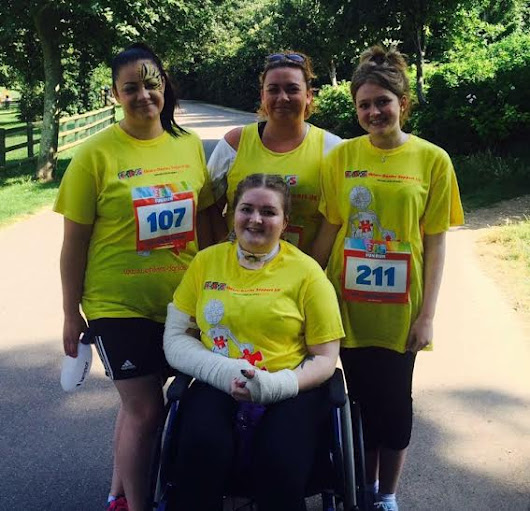 Sisters share family story for tackling Big Fun Run in Hove