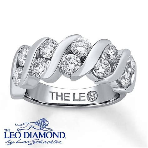 15 Ideas of Leo Diamond Wedding Bands