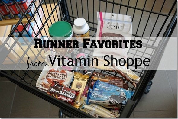 Runner Favorites from Vitamin Shoppe