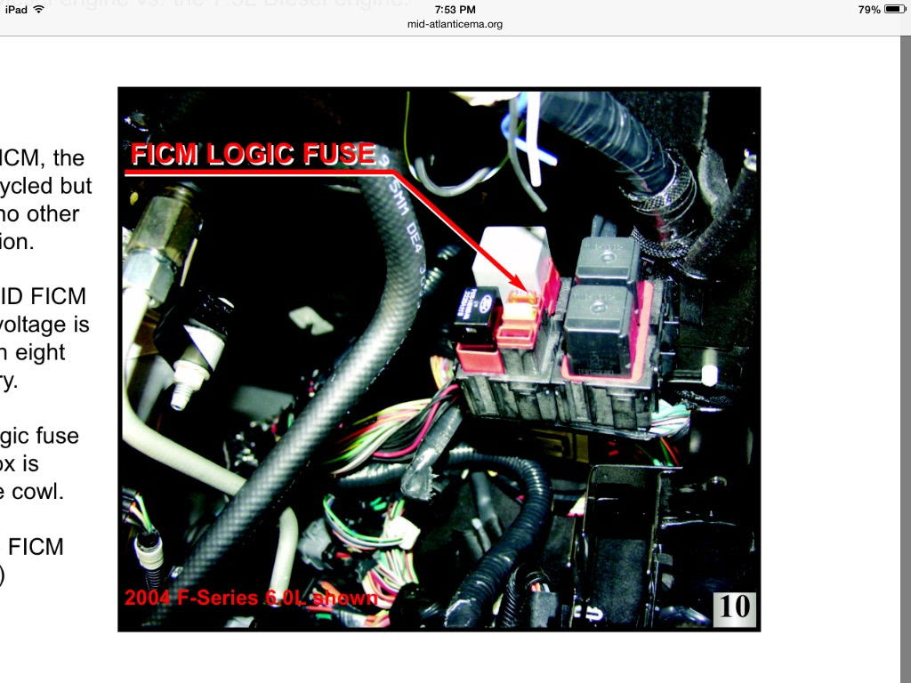 2003 6 0 No Power To Ficm Relay Pin 5 Ford Powerstroke Diesel Forum