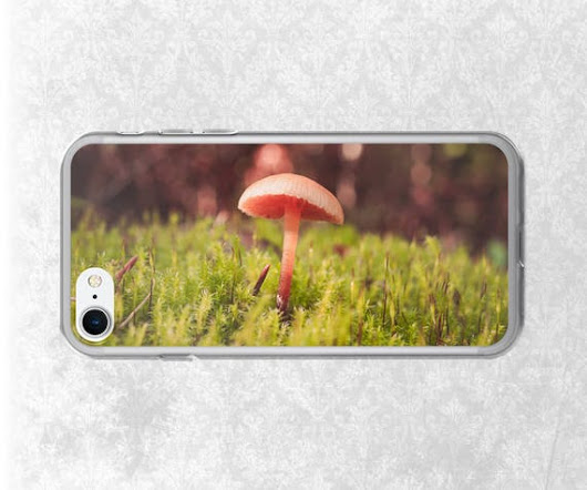 Forest iPhone Case Mushroom Phone Case Nature iPhone Cover