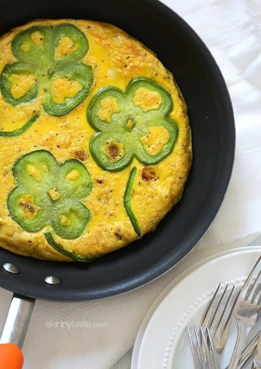 Bell Pepper and Potato Frittata