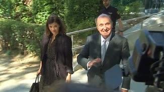 Miquel Roca, sortint de l'Audiència