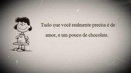 Amor e um pouco de chocolate