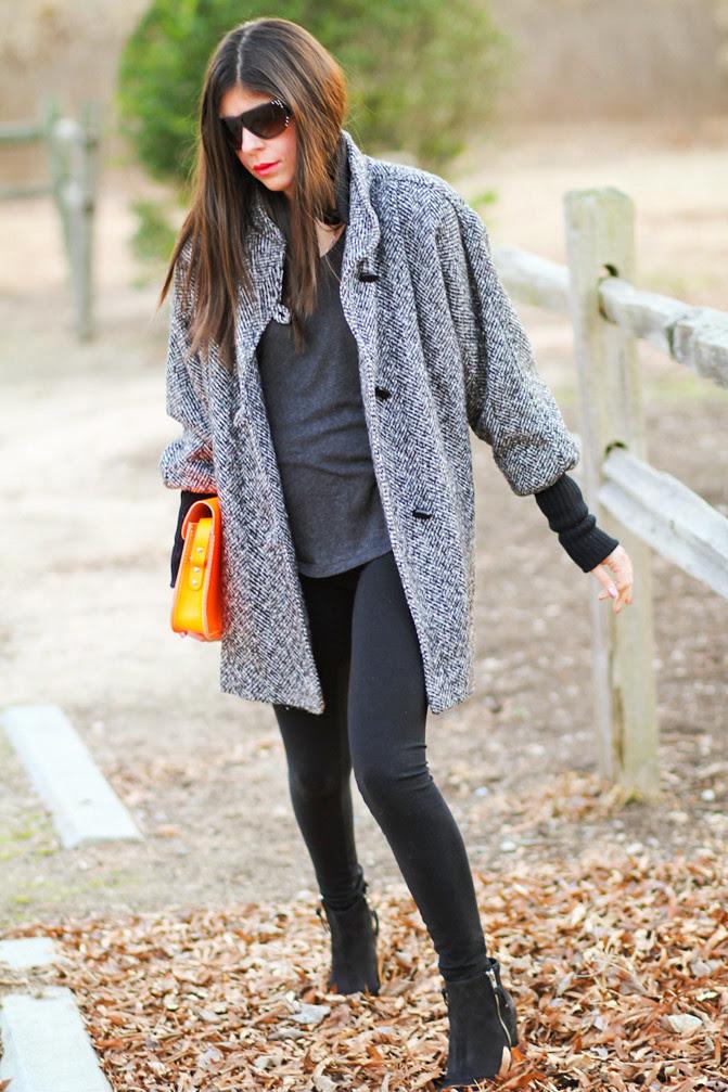 Topshop ambush boots, Cambridge Fluorescent satchel neon bag, So Low Leggings, Fashion outfit