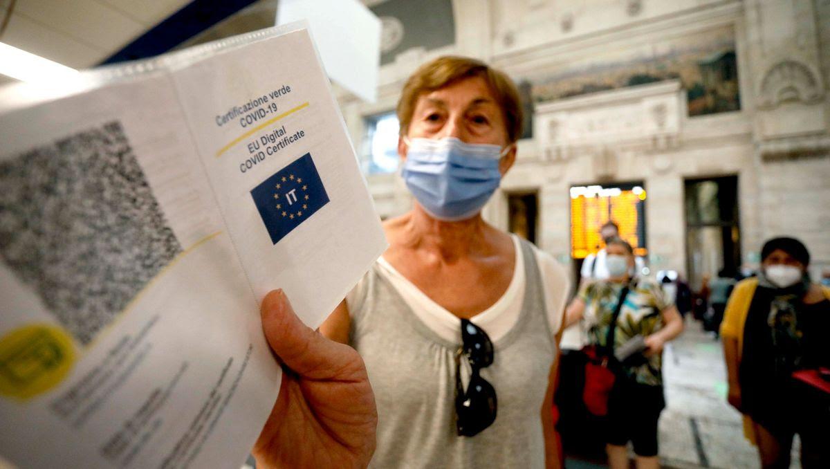 Coronapandemie: Italien will »Grünen Pass« am Arbeitsplatz einführen