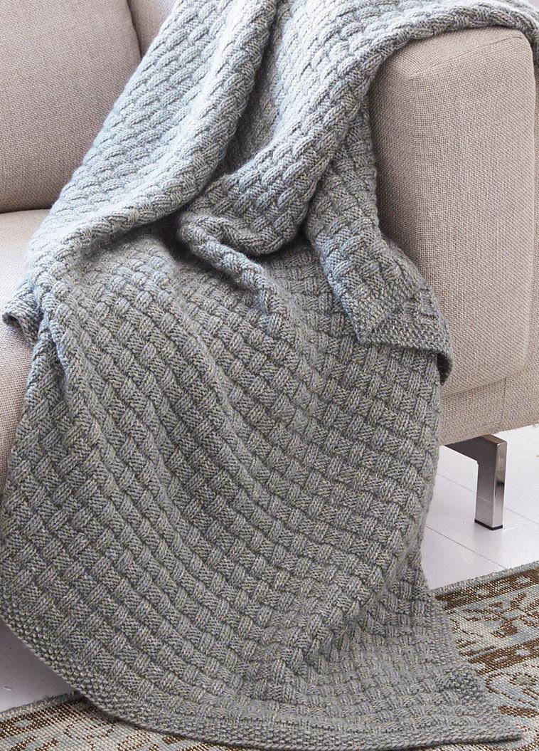 Easy Afghan Knitting Patterns  In the Loop Knitting
