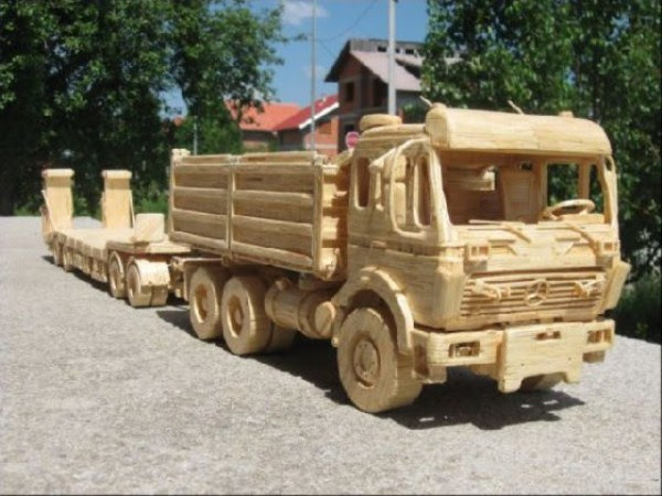 1136 Impressive Matchsticks Vehicles (20 photos)