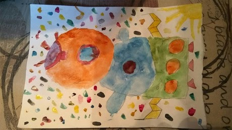 Art teacher says 8yo boy can't draw space properly, but Roscosmos knows better (PHOTO)