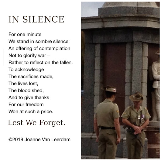 Why a Minute of Silence Matters.