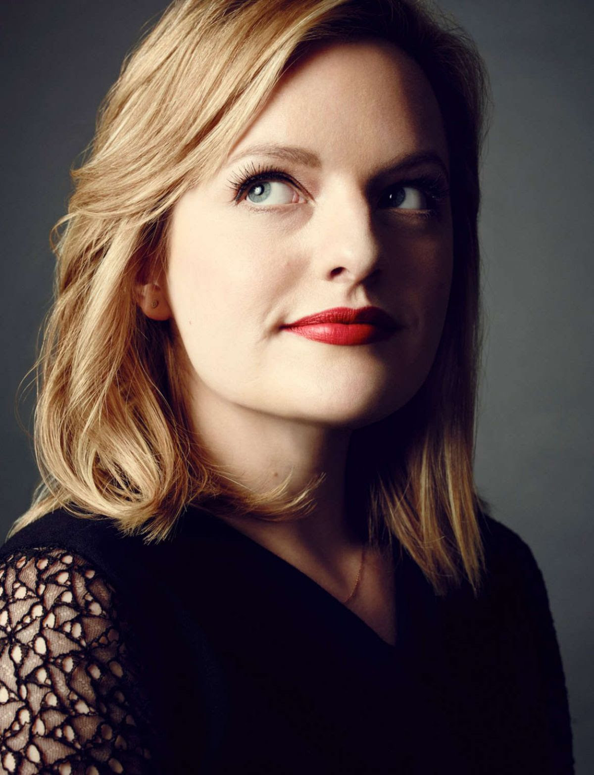 ELIZABETH MOSS in The Hollywood Reporter, March 2015 Issue