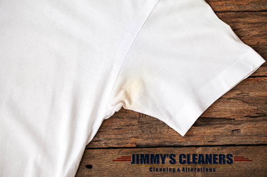 Deodorant Stains on Your Clothes – What a Dilemma - Jimmy's Cleaners