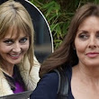 Back to brunette! Carol Vorderman proves that blondes don't have more fun as she ditches highlights for darker locks