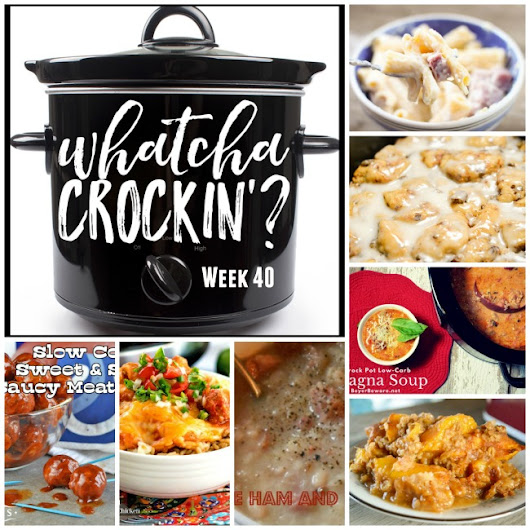 WHATCHA CROCKIN' WEDNESDAY - Week 40 - The Farmwife Cooks