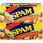 Hormel Spam, 25% Less Sodium - 8 count, 12 oz cans