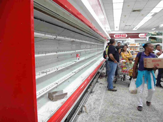 The Nightmare Of Grocery Shopping In Venezuela